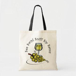 La bolsa de asas del s del vino blanco 5