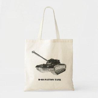 La bolsa de asas del tanque de M-60 Patton
