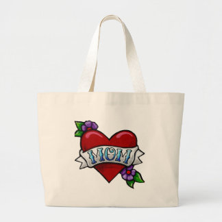 La bolsa de asas del tatuaje de la mamá