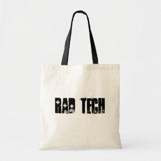 La bolsa de asas del técnico de la radiología