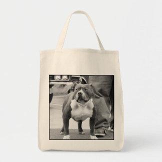 La bolsa de asas del terrier de Staffordshire