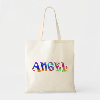 La bolsa de asas del texto del ángel de SimplyTonj