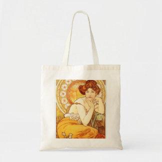 La bolsa de asas del Topaz de Alfonso Mucha