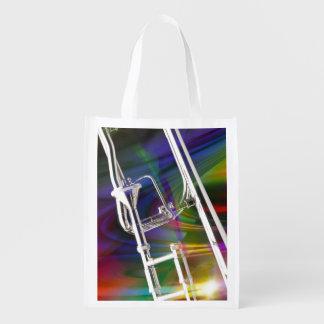 La bolsa de asas del Trombone de diapositiva USTED Bolsas De La Compra
