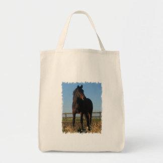La bolsa de asas del ultramarinos del caballo de b