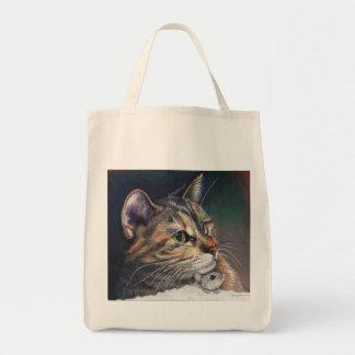 La bolsa de asas del ultramarinos del gato y del