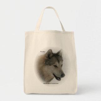 La bolsa de asas del ultramarinos del lobo gris