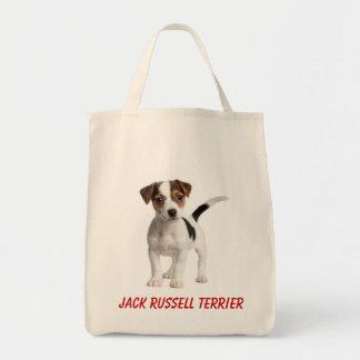 La bolsa de asas del ultramarinos del perro de per