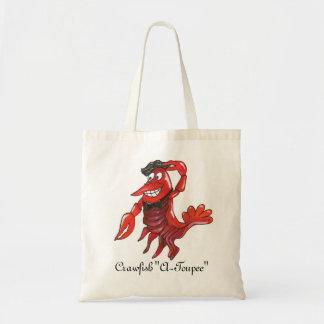 """La bolsa de asas del """"Uno-Toupee"""" de los cangrejos"""