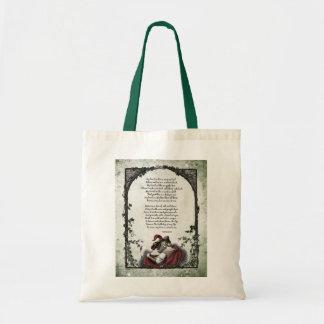 """La bolsa de asas del Victorian del """"amor"""" de Rosse"""