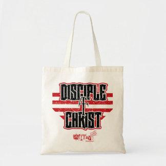 La bolsa de asas del vintage de Cristo del discípu