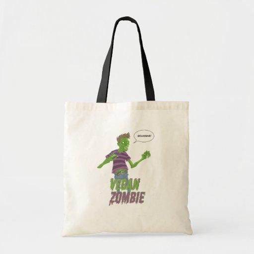 La bolsa de asas del zombi del vegano
