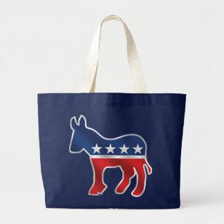 La bolsa de asas Democratic del burro