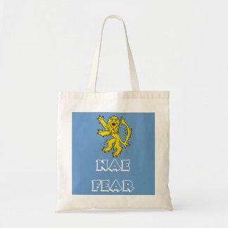 La bolsa de asas desenfrenada del león escocés val