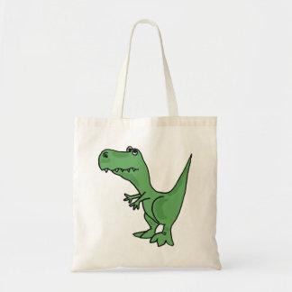 La bolsa de asas divertida del CO T-rex