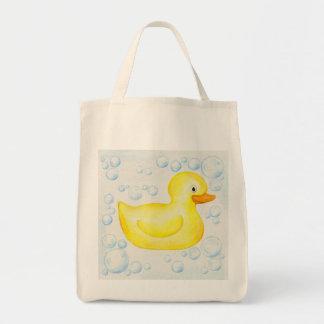La bolsa de asas Ducky de goma