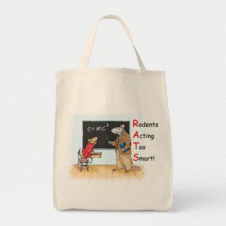 La bolsa de asas elegante de la rata