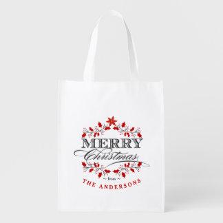 La bolsa de asas elegante del regalo de la bolsa para la compra