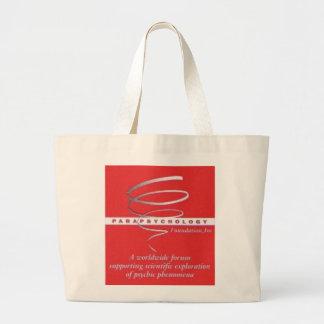 La bolsa de asas enorme con el logotipo del PF