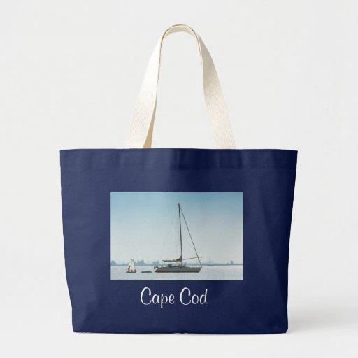 La bolsa de asas enorme de la lona del velero de C