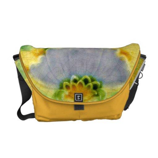 La bolsa de asas ENORME enloquecida flor de Crossb Bolsas De Mensajeria