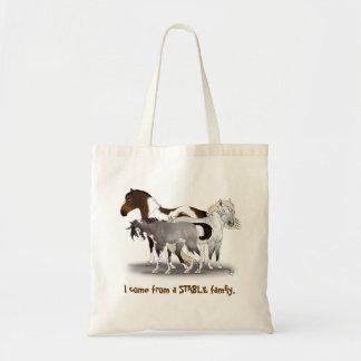 La bolsa de asas estable de la familia