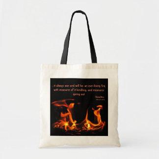 La bolsa de asas eterna del fuego de Heraclitus