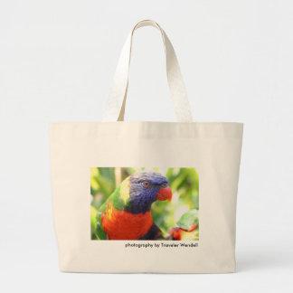 La bolsa de asas exótica del pájaro