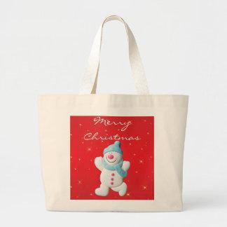 La bolsa de asas feliz de las Felices Navidad de l