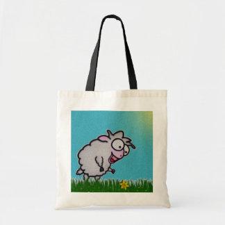 La bolsa de asas feliz de las ovejas