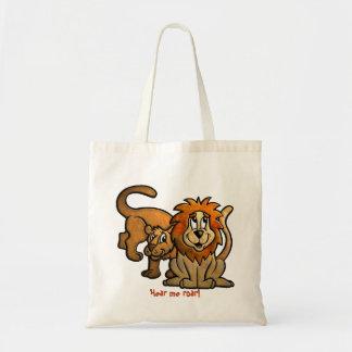 La bolsa de asas feliz de los leones