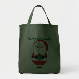 La bolsa de asas feliz de Santa