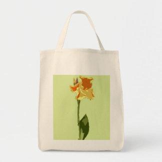 La bolsa de asas floral