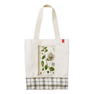 La bolsa de asas floral del CORAZÓN de Zazzle del Bolsa Tote Zazzle HEART