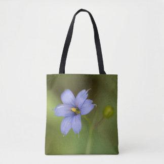 La bolsa de asas floral del Wildflower de la