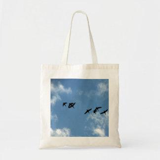 La bolsa de asas - gansos en vuelo