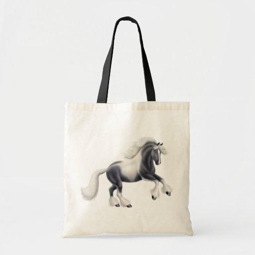La bolsa de asas gitana del caballo de Vanner de l