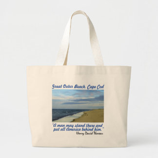 La bolsa de asas:  Gran playa externa, Cape Cod