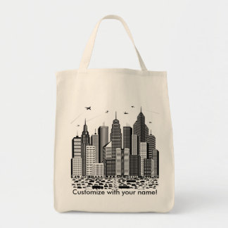 La bolsa de asas grande de la ciudad