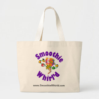 La bolsa de asas grande de Whirl'd del Smoothie