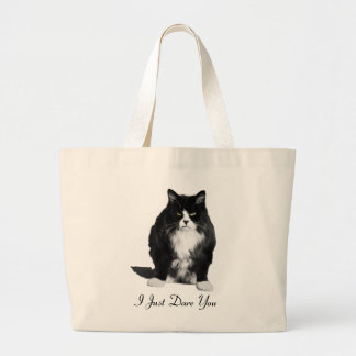 La bolsa de asas gruñona del gato