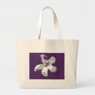 La bolsa de asas hawaiana del hibisco