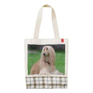 La bolsa de asas hermosa de la foto del perro de bolsa tote zazzle HEART