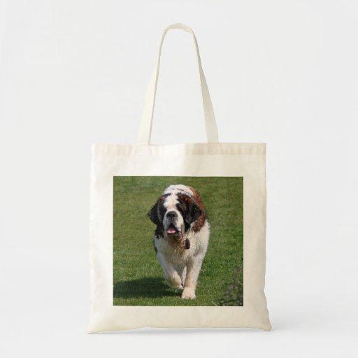 La bolsa de asas hermosa de la foto del perro de S