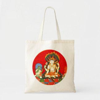 La bolsa de asas hindú del papel de regalo de Vish
