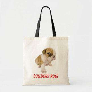 La bolsa de asas inglesa del amor del perro de
