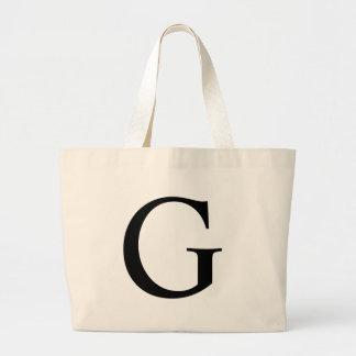 La bolsa de asas inicial del jumbo de G