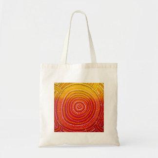 La bolsa de asas inspirada aborigen