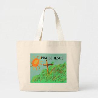 La bolsa de asas inspirada de Jesús de la alabanza