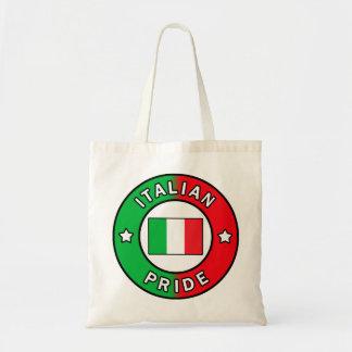 La bolsa de asas italiana del orgullo